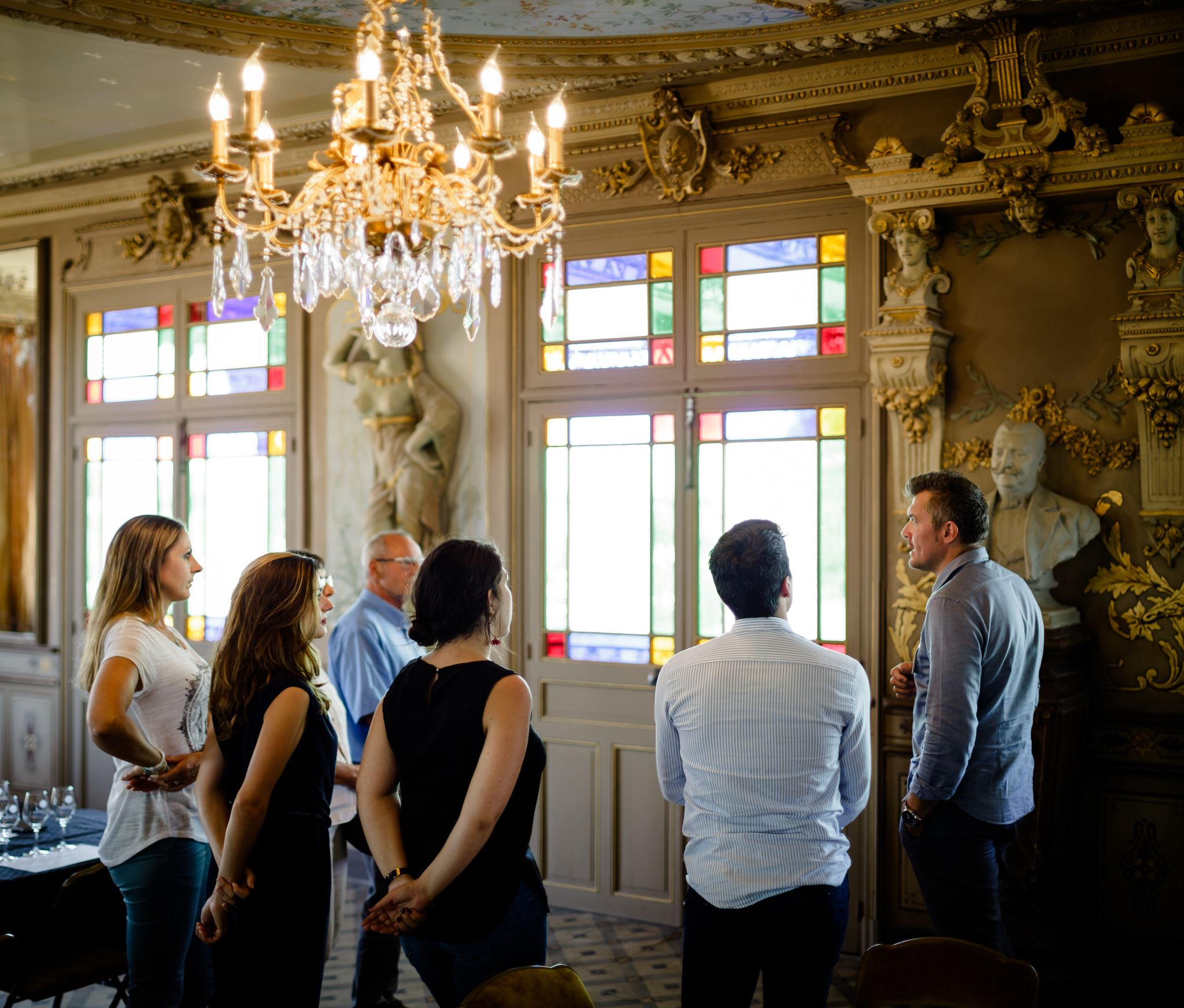 Dégustation 3 vins & Visite Historique salle belle époque - Le Comptoir de la Cité/Foncalieu - 1h - Français/Anglais