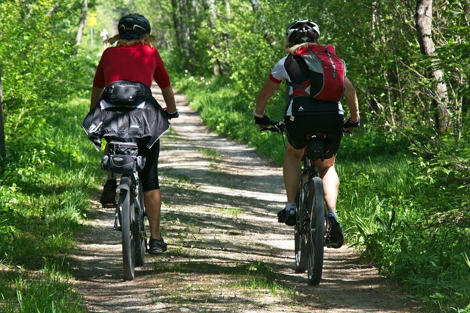 Biking: Toftasjön runt, 20 km
