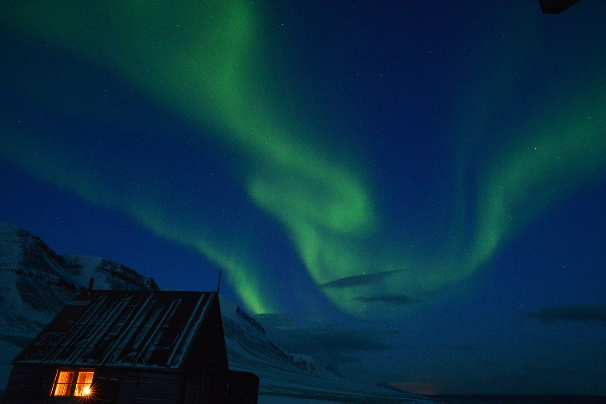 4 Days Aurora Adventure on Svalbard