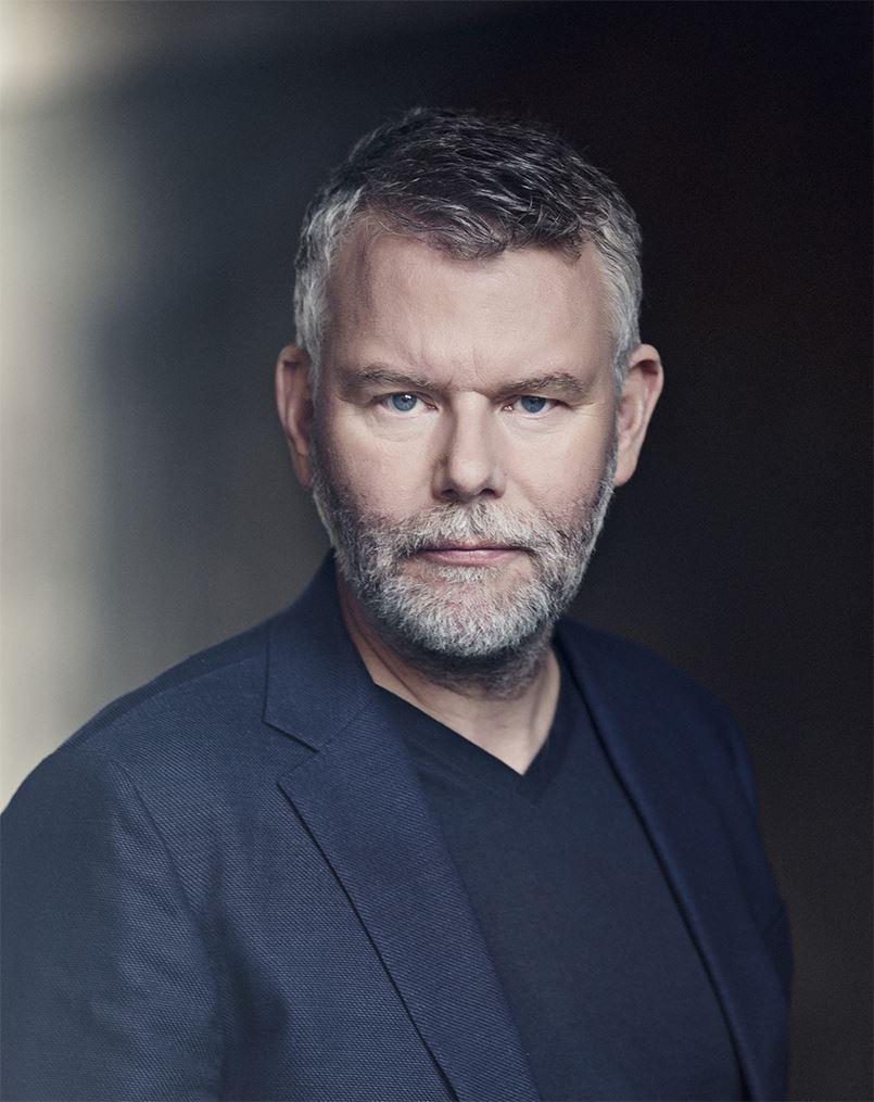 Pressbild, Författarbesök - Jan Arnald/Arne Dahl