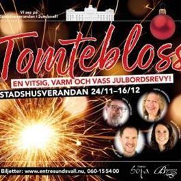 Tomtebloss - En vitsig, varm och vass julrevy!