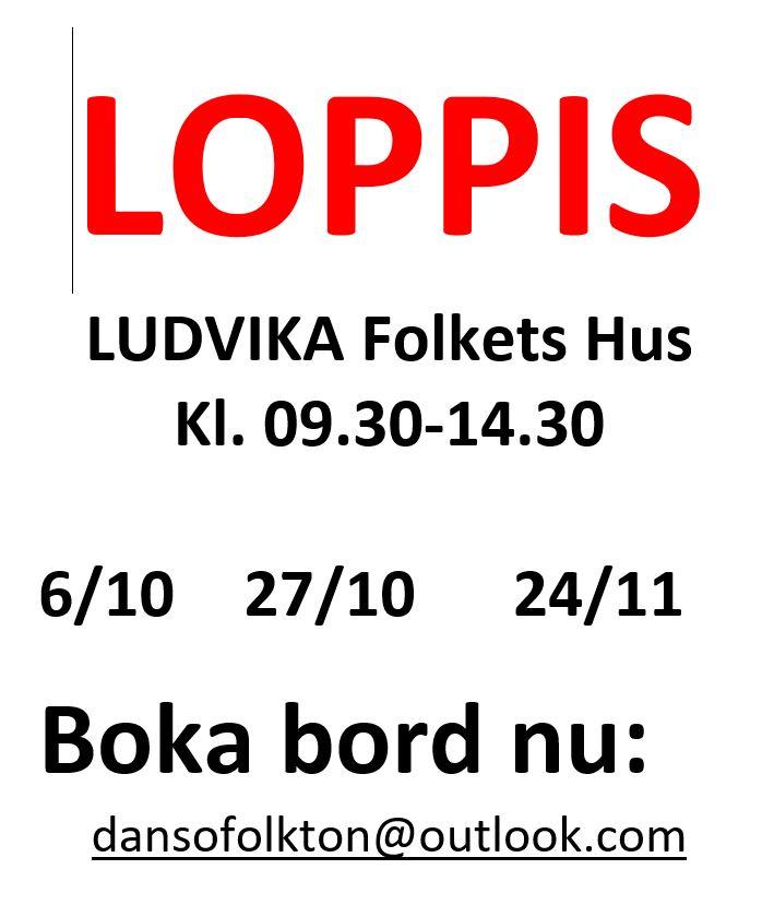 Loppis Folkan Ludvika