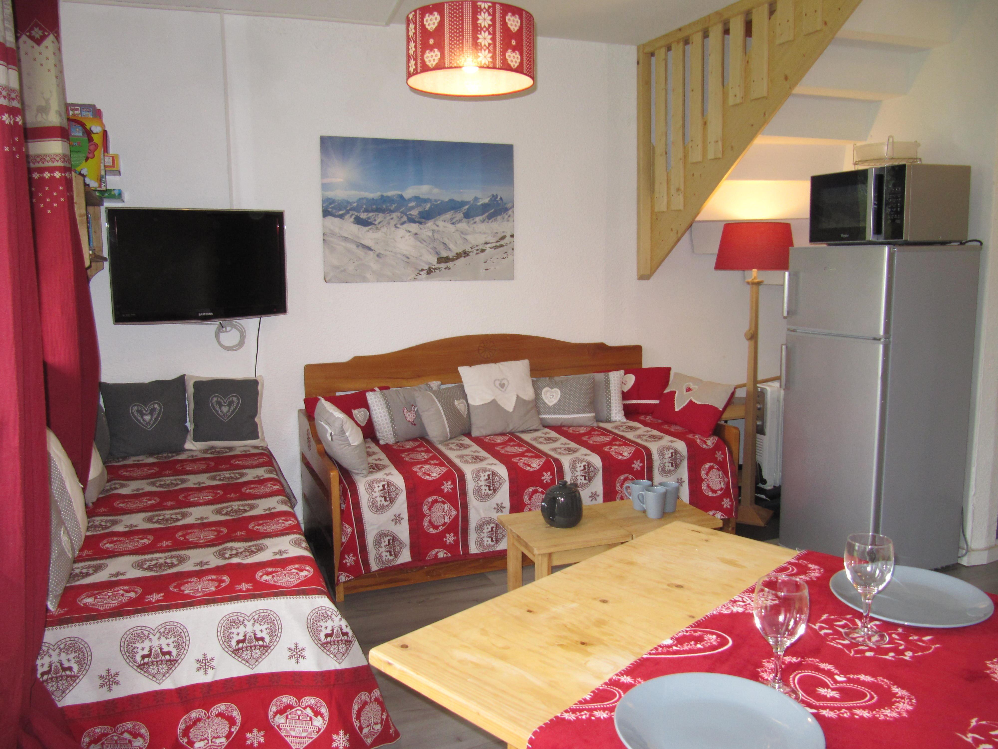 Nazca C3 > Appartement 3 pièces + 2 cabines en duplex - 8 personnes - 3 Flocons Or (Ma Clé IMMO)