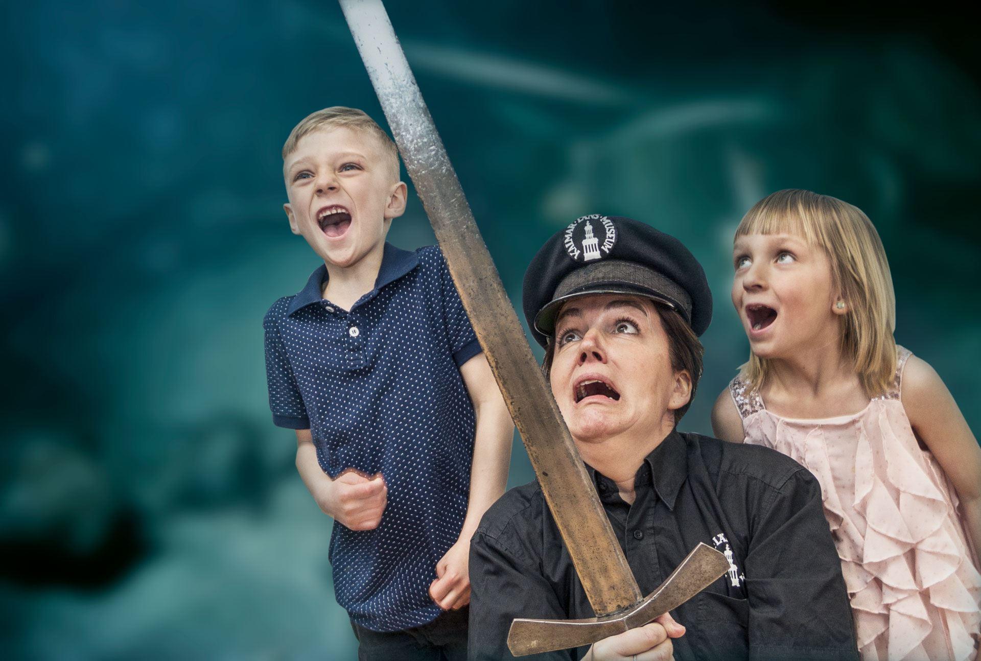 Föräldraförbjuden spökvandring i museets dolda vrår