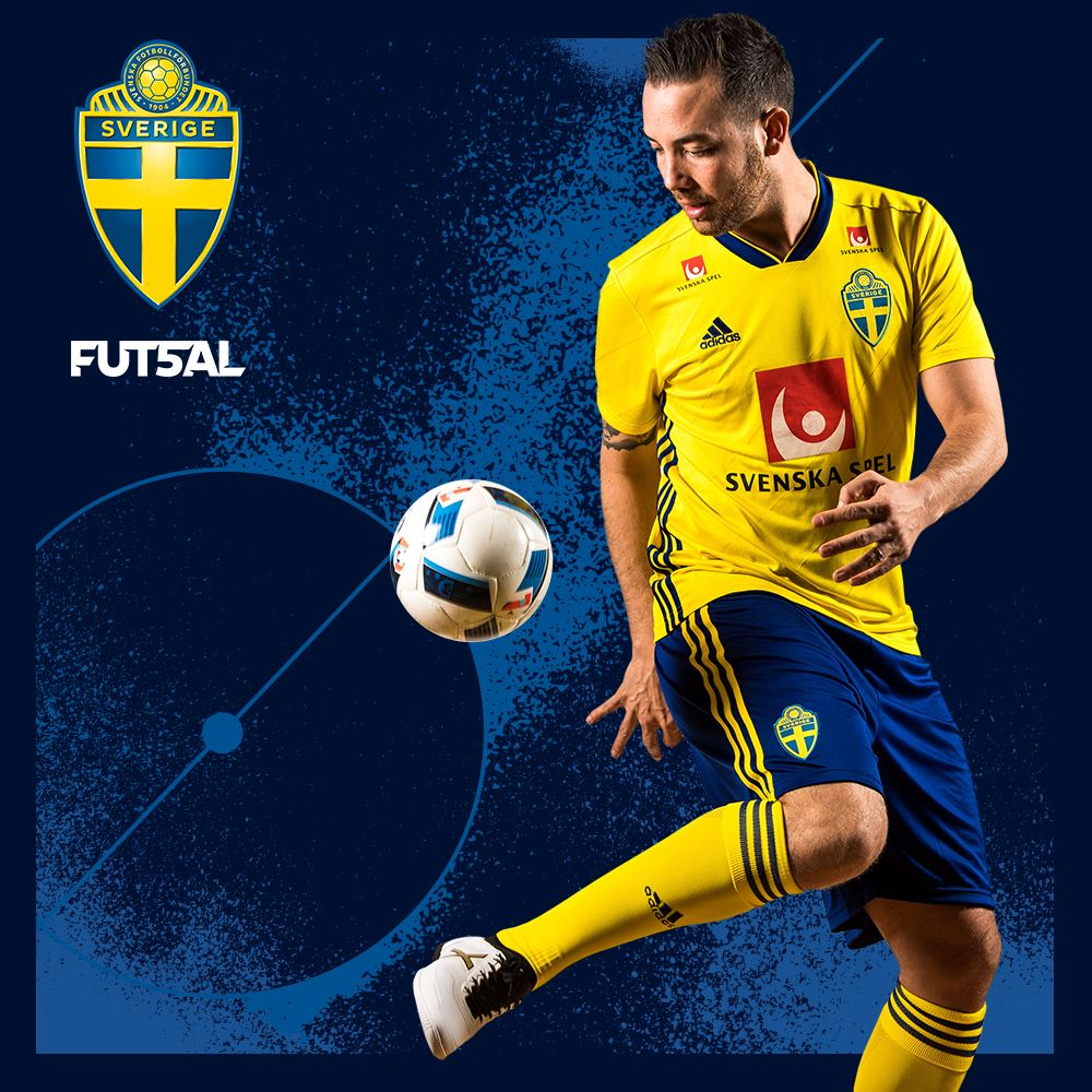 Sverige - Frankrike i dubbellandskamp 2 matcher - Långsida A