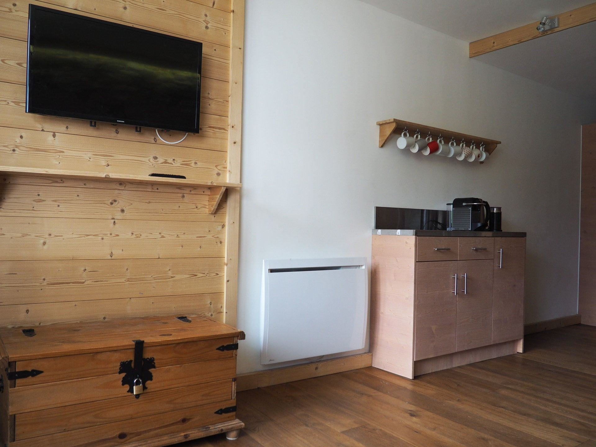 2 Rooms 4 Pers ski-in-ski-out / Charmettes 214