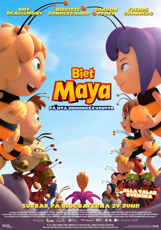 Filmettan: Biet Maya – På nya honungsäventyr