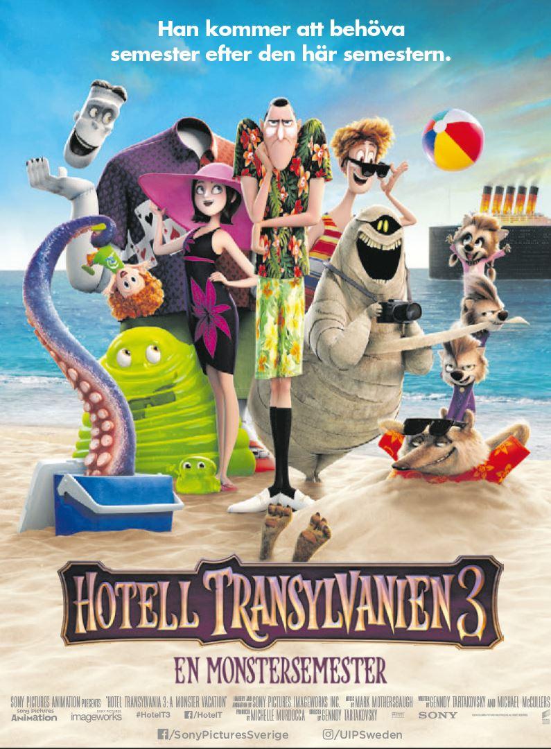 Filmettan: Hotell Transylvanien 3 – En monstersemester