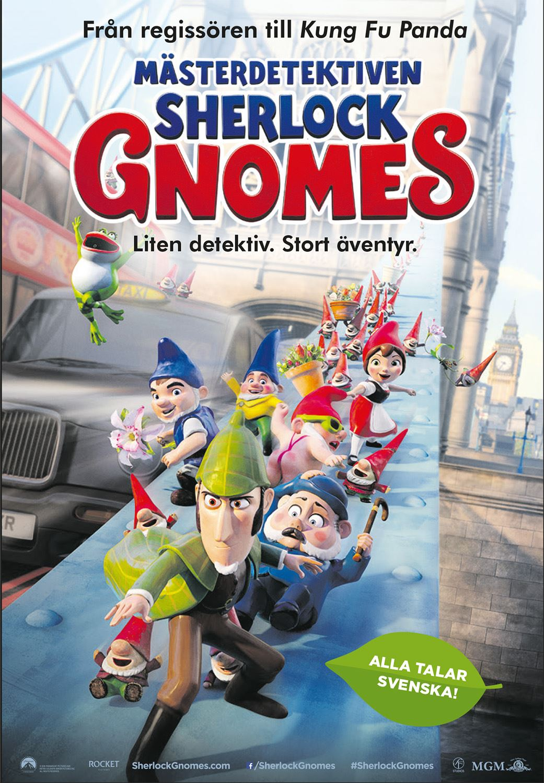 Filmettan: Mästerdetektiven Sherlock Gnomes – Liten detektiv. Stort äventyr