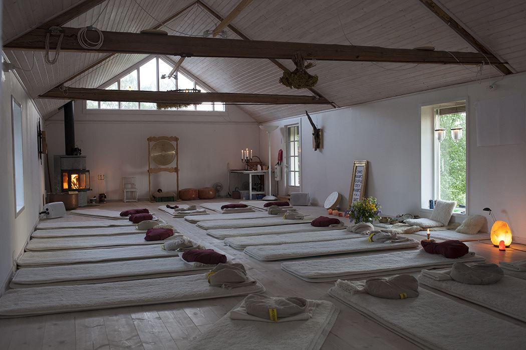 Yoga i Hagen morgon