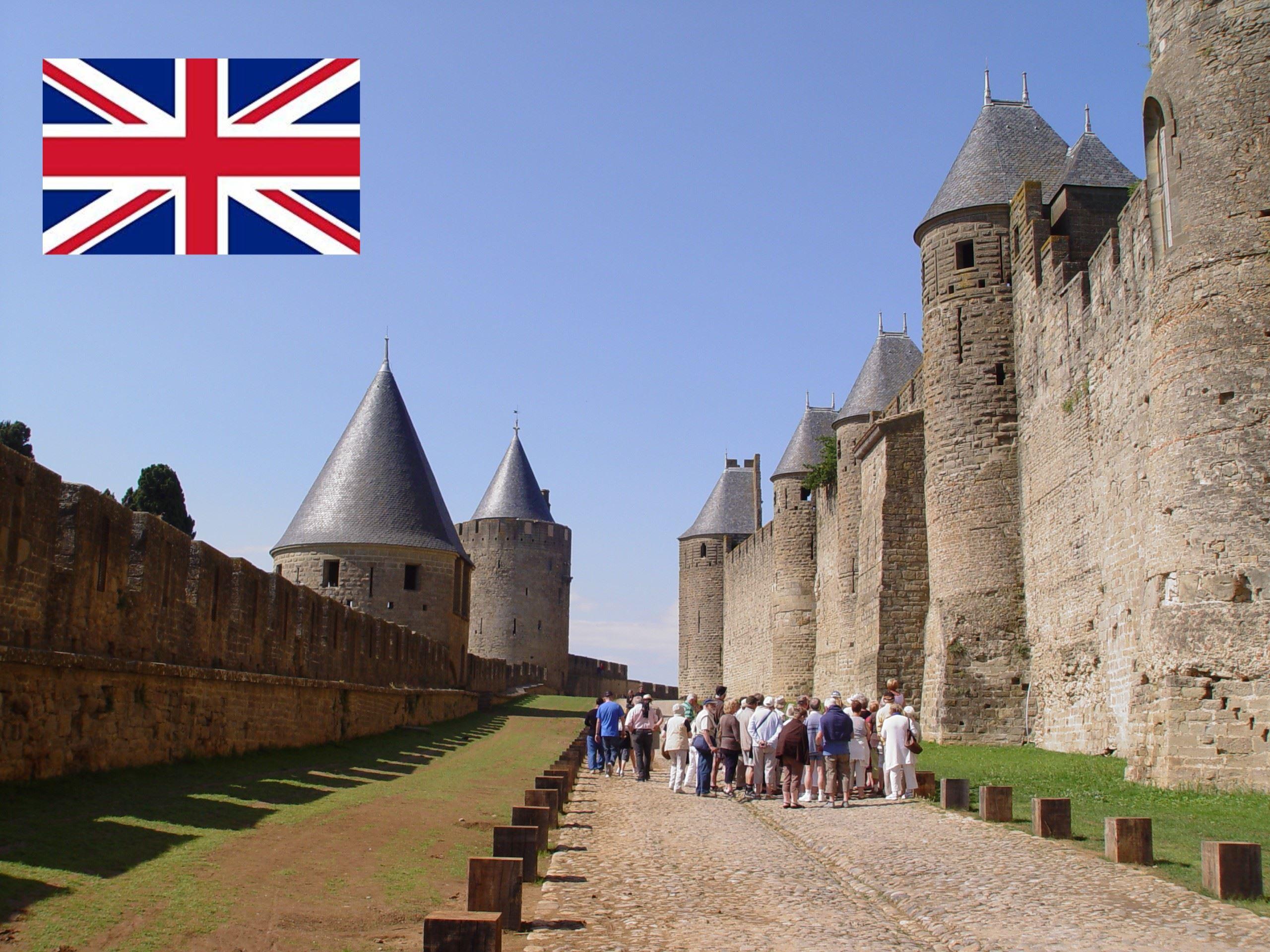 Visite guidée - Cité Médiévale - Visite Classique historique - 1h15 - GB - Anglais
