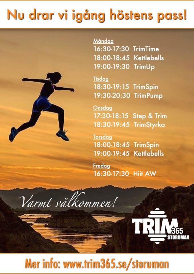 Gruppträning med Trim365