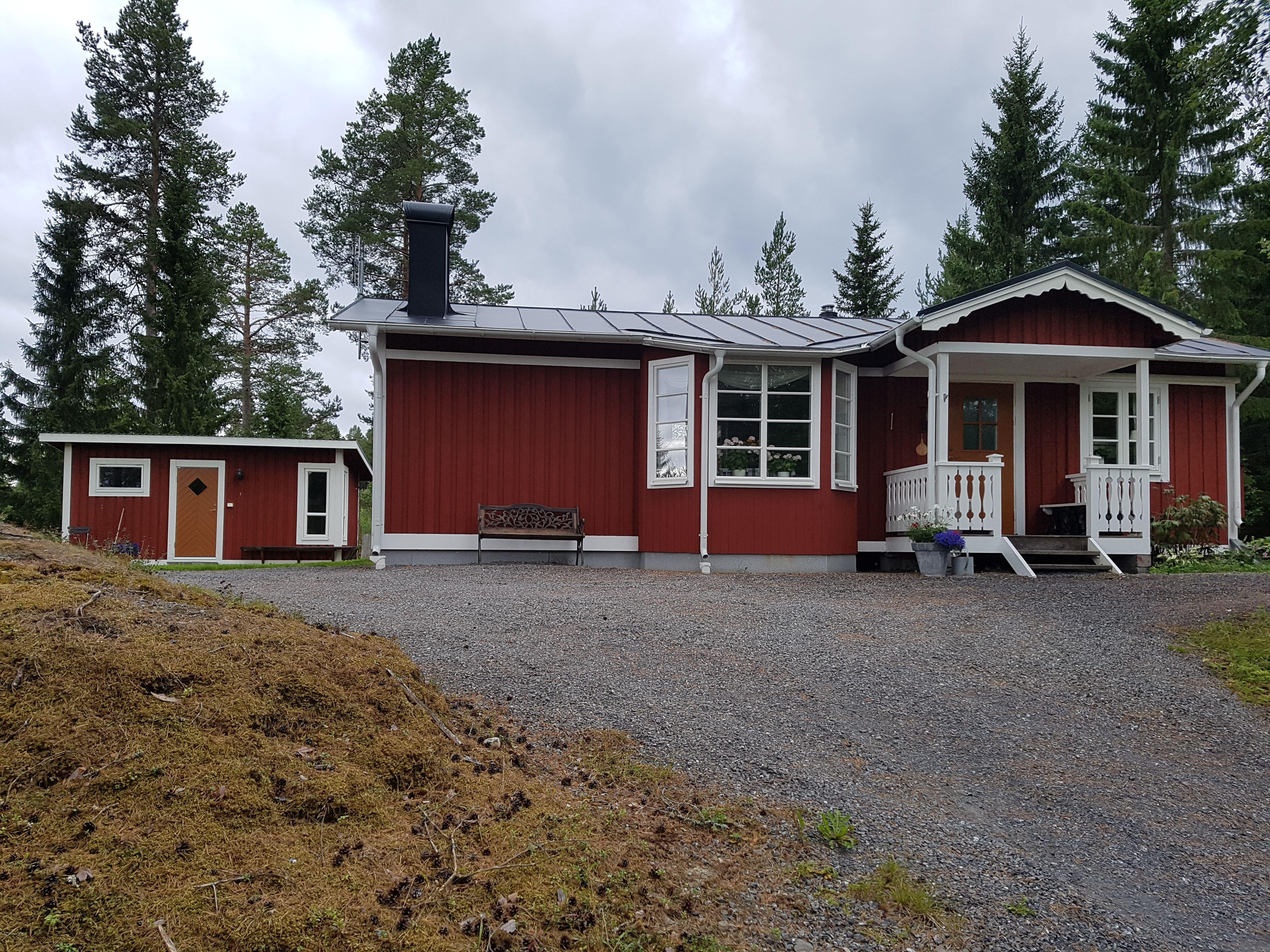 HV088 House and guesthouse at Rödön