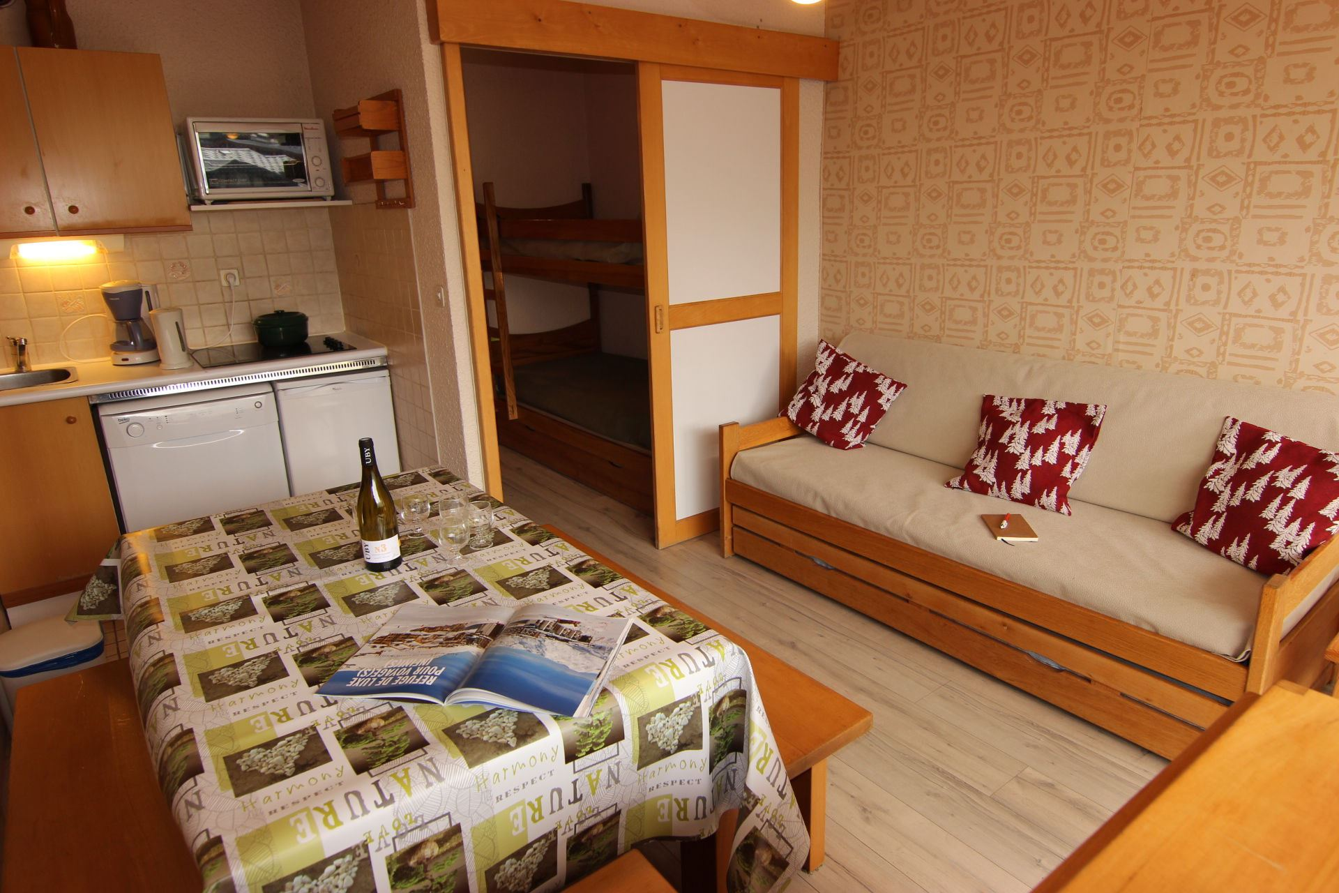 LAC DU LOU 307 / 2 ROOMS 6 PERSONS - 1 BRONZE SNOWFLAKE - VTI