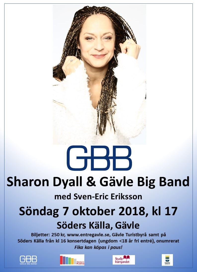 Sharon Dyall & Gävle Big Band med Sven-Eric Eriksson