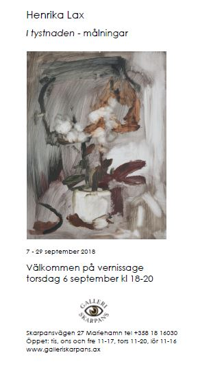 Art exhibition: Henrika Lax: