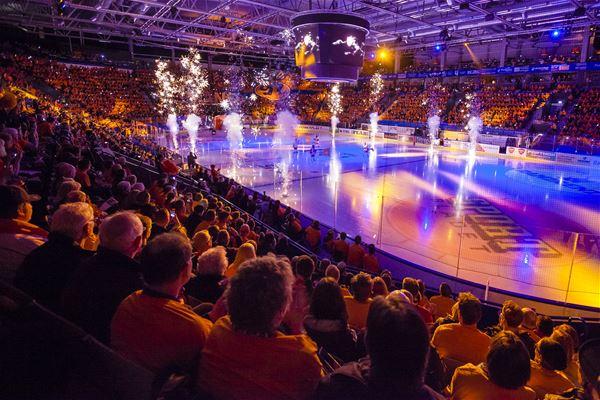 Ishockey: Växjö Lakers - Luleå