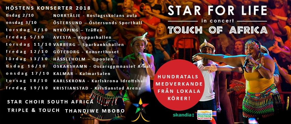Concert - Star for Life Touch of Africa