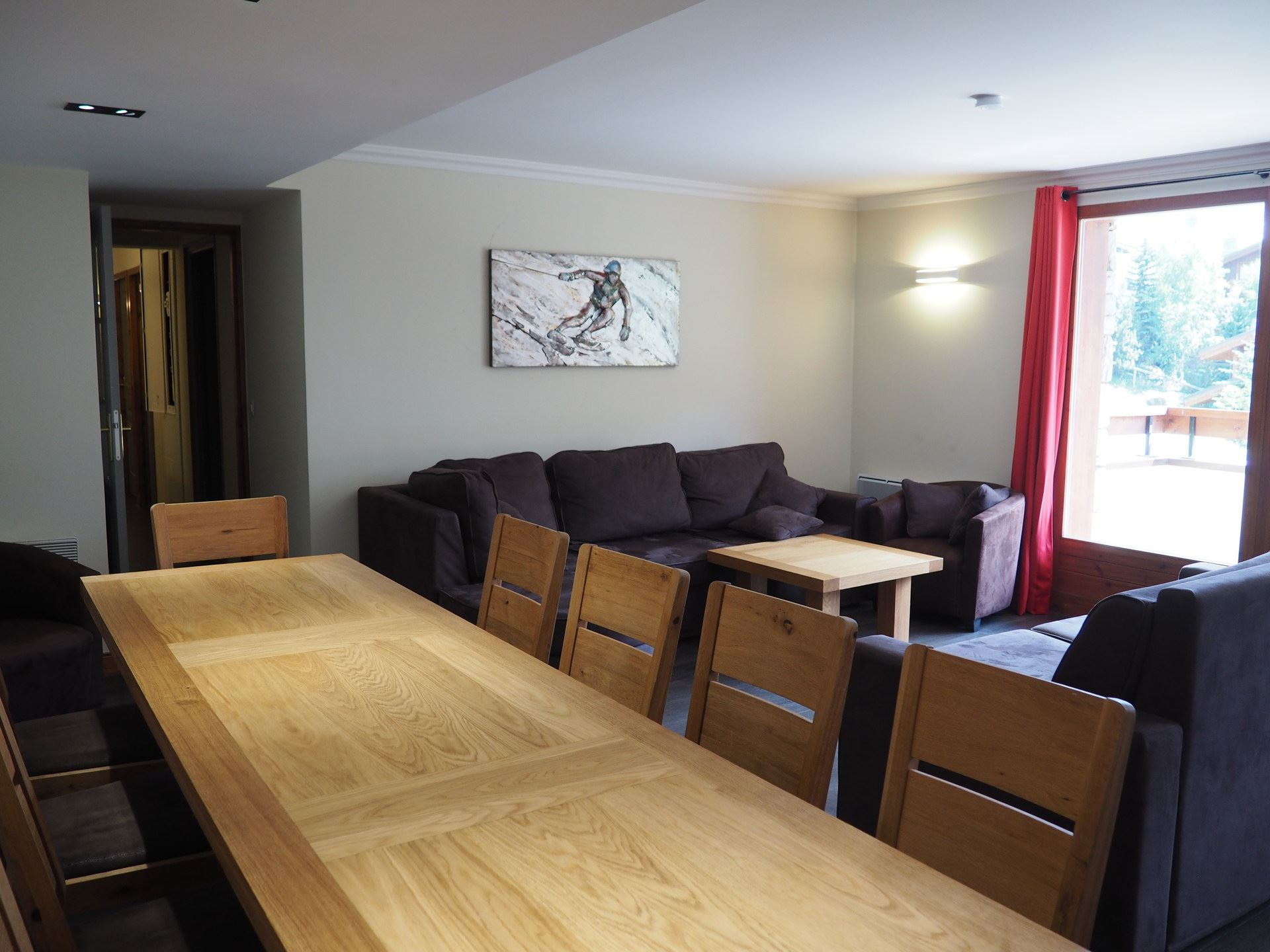 5 Rooms 10 Pers ski-in ski-out / LES CRISTAUX 21