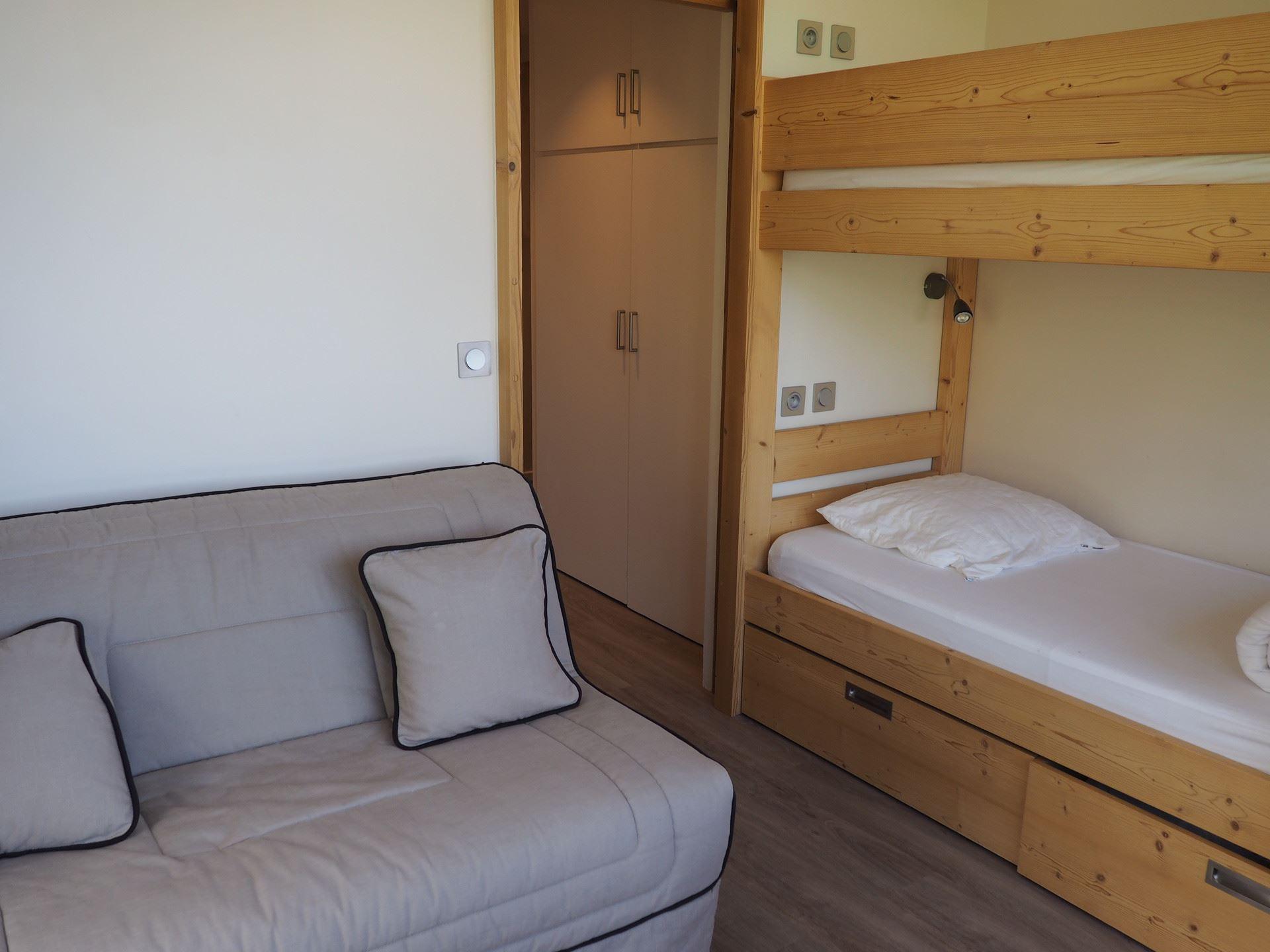 2 room 6 pers ski-in ski-out / DORONS 605