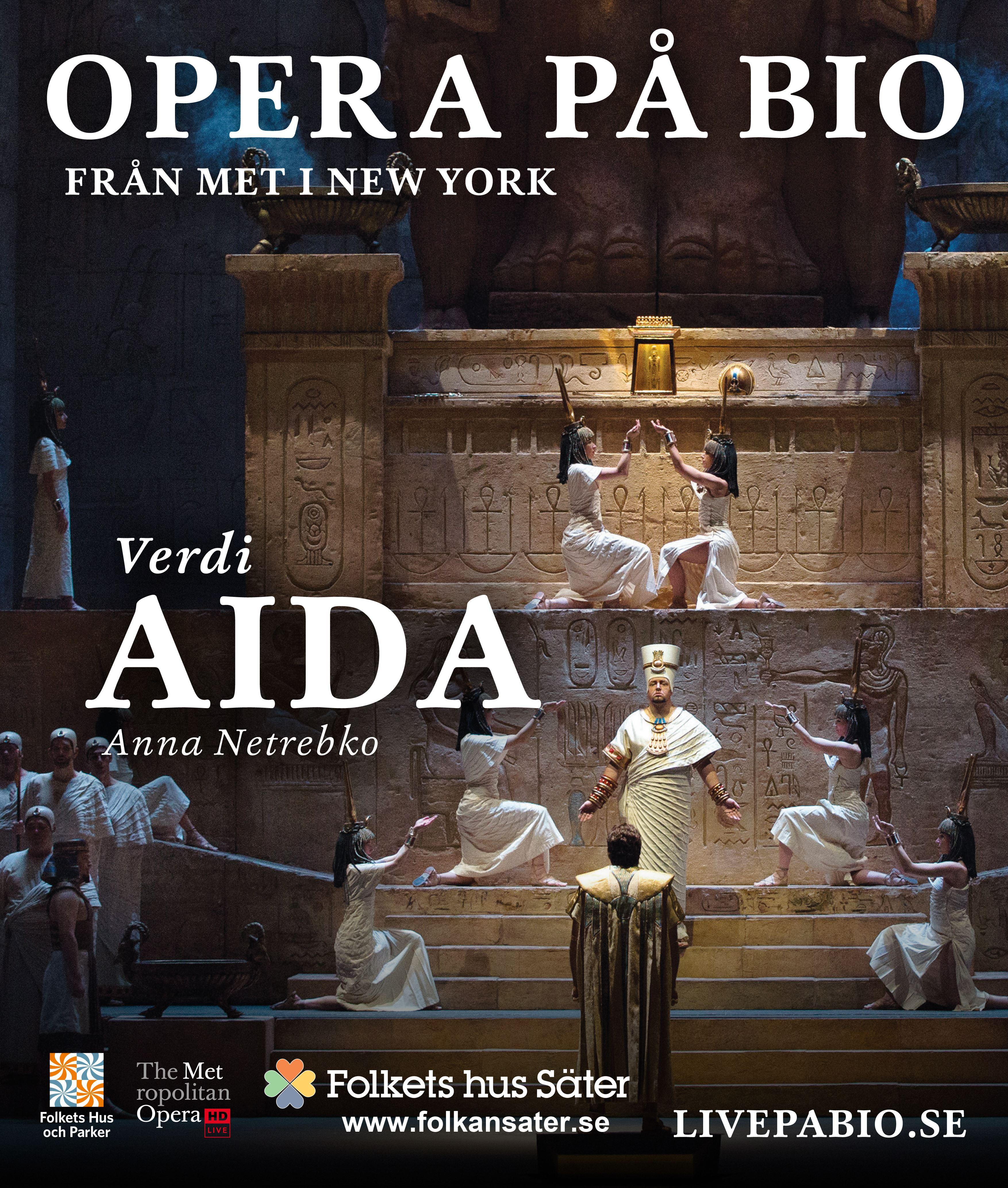 Live opera på bio - Aida