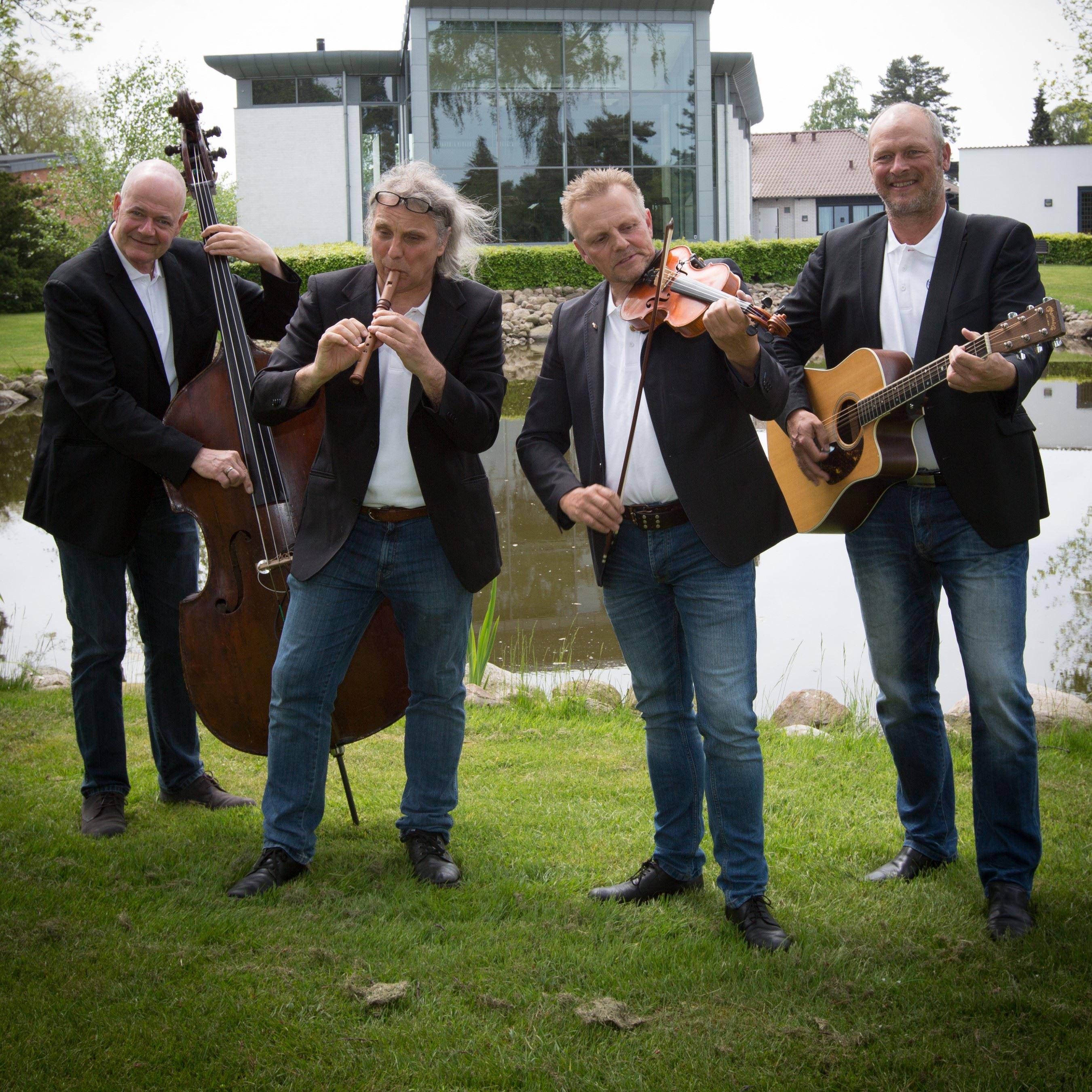 Irsk musik på Højskolen Marielyst og Torvet i Nykøbing F