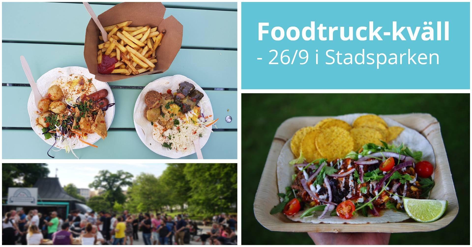 Foodtruck-kväll i Stadsparken
