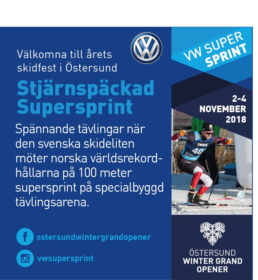 © Östersund Winter Grand Opener, VW Supersprint