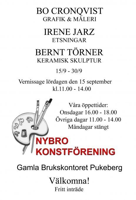 Vernissage - Nybro konstförening