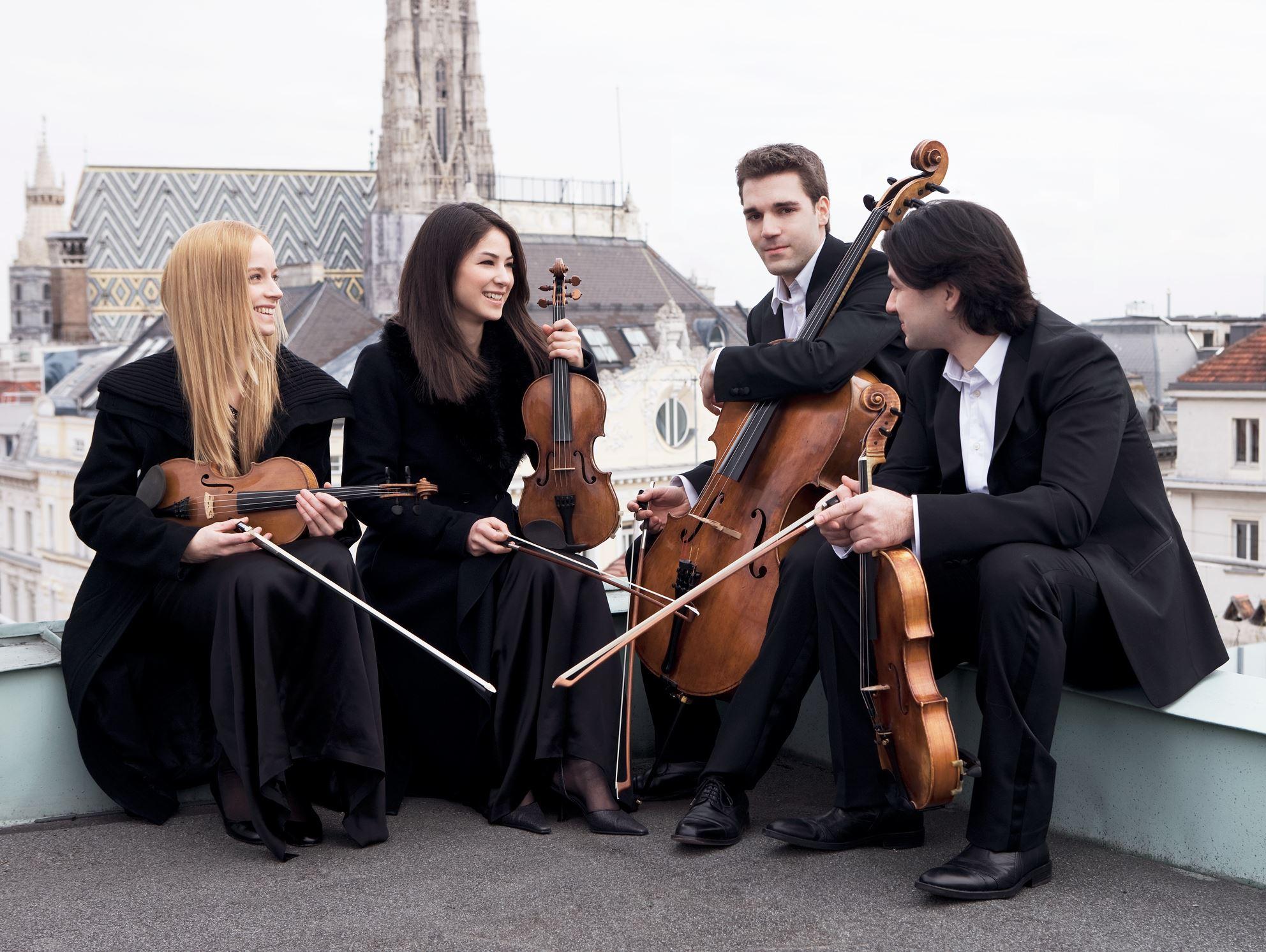 Oliver Jiszda, Konsert - Minetti Quartet