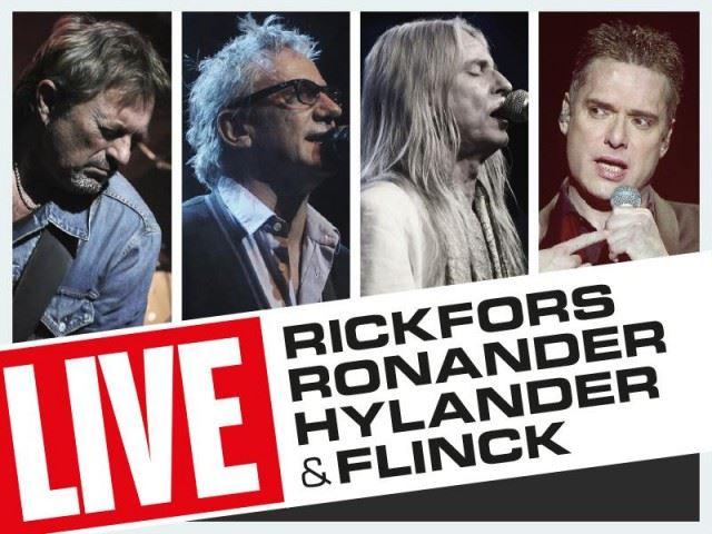 Konsert: Rickfors, Ronander, Hylander & Flinck på Alandica