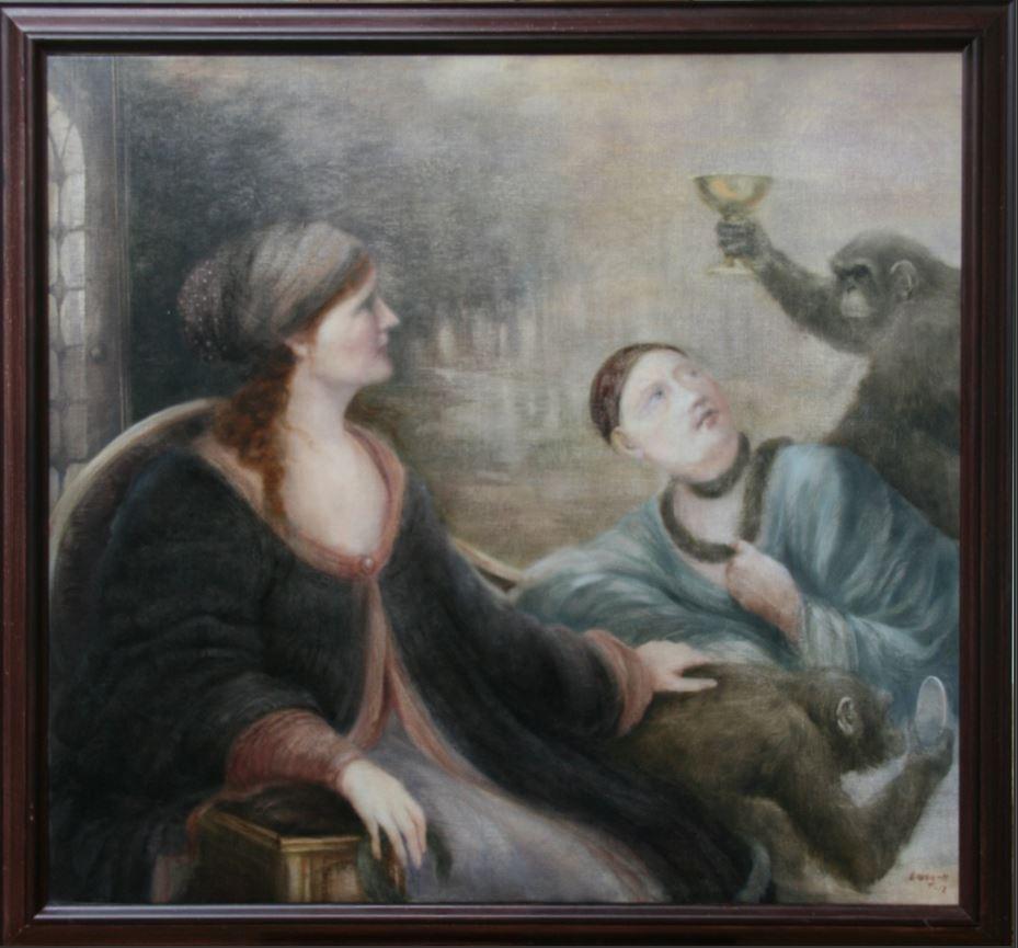Utställning - Rose-Marie Qvarfordt