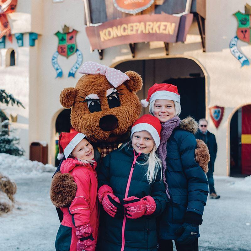 Jul i Kongeparken