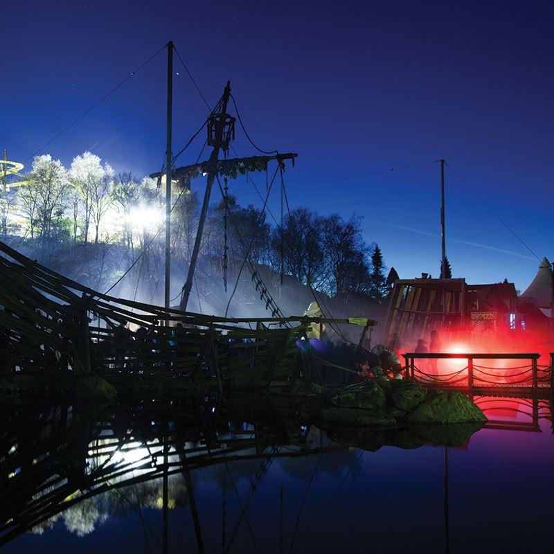 Spøkelsesnatt med Skummel Gårdsbuffet