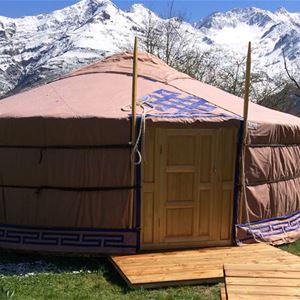 © © CAUSSIEU, HPG157 - Yourte mongole