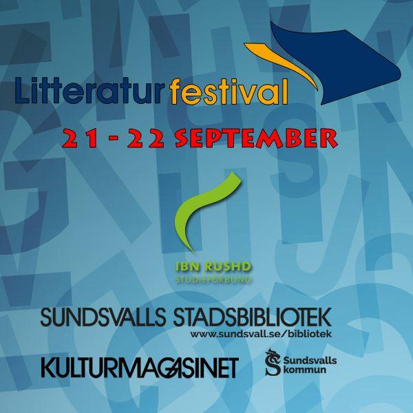 Litteraturfestival på Kulturmagasinet