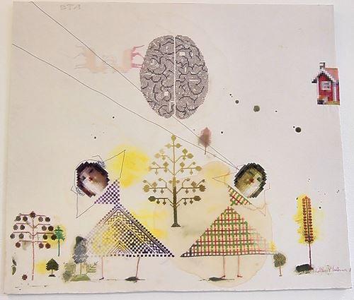Finissage för utställningen med Lillevi Hultman & Maja Svensdotter