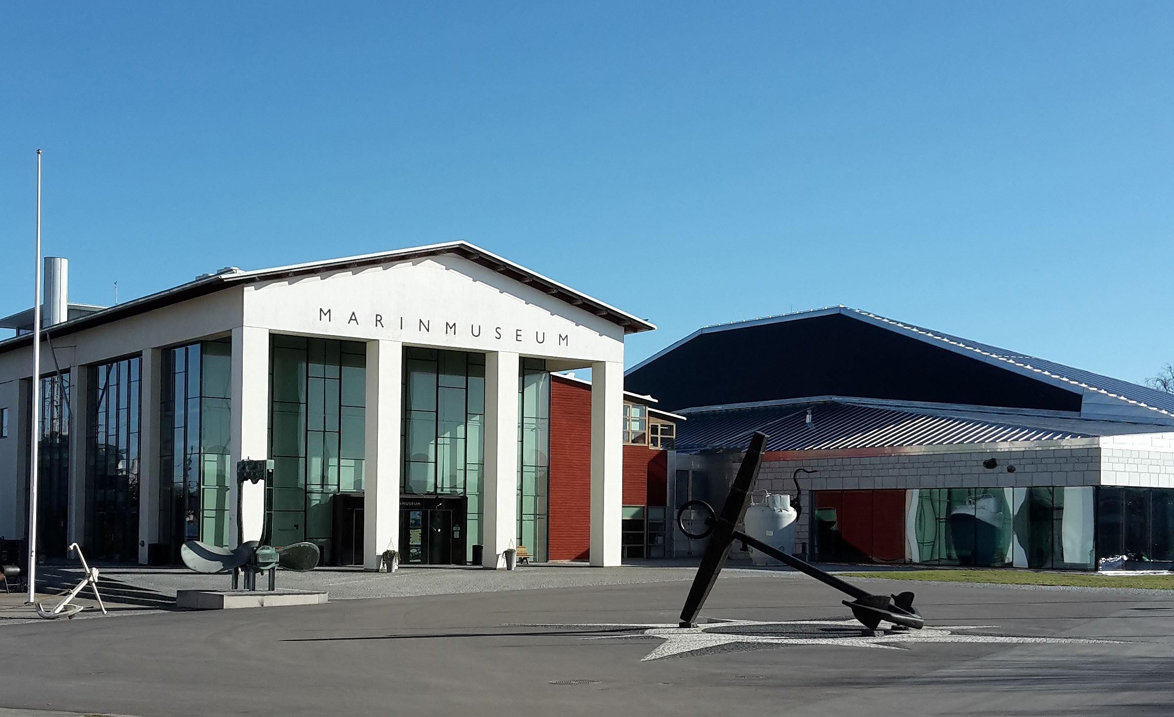 Visning av galjonsbilderna - Marinmuseum