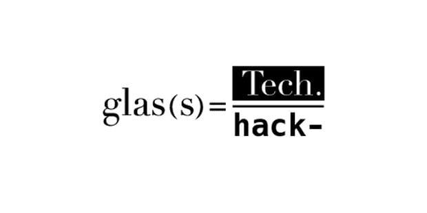 Workshop 1 & 2 + seminarium, Glass Tech-Glass Hack