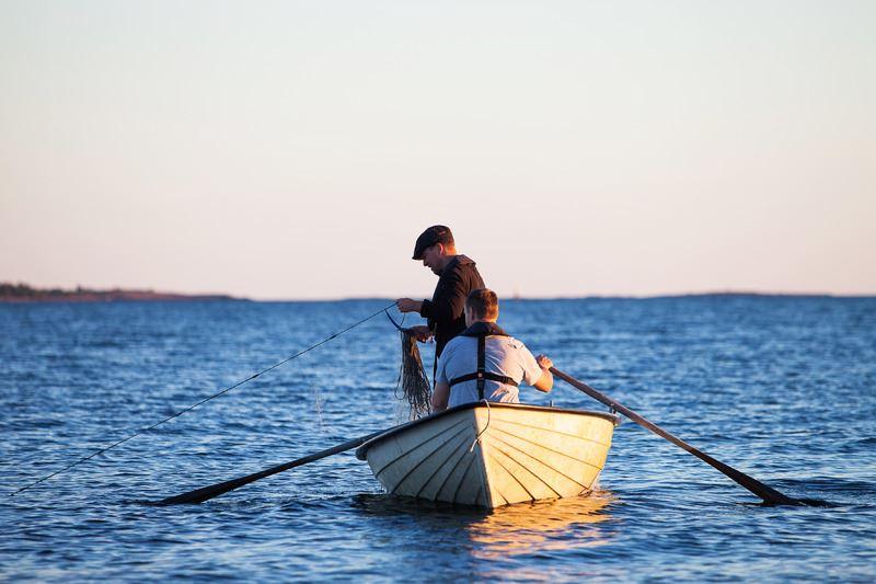 Kalastuskortti Bomarsund-Prästö