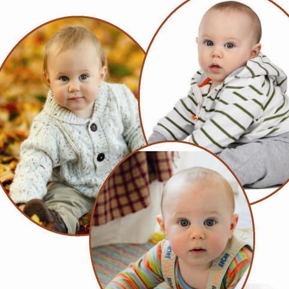 Tre bebisar