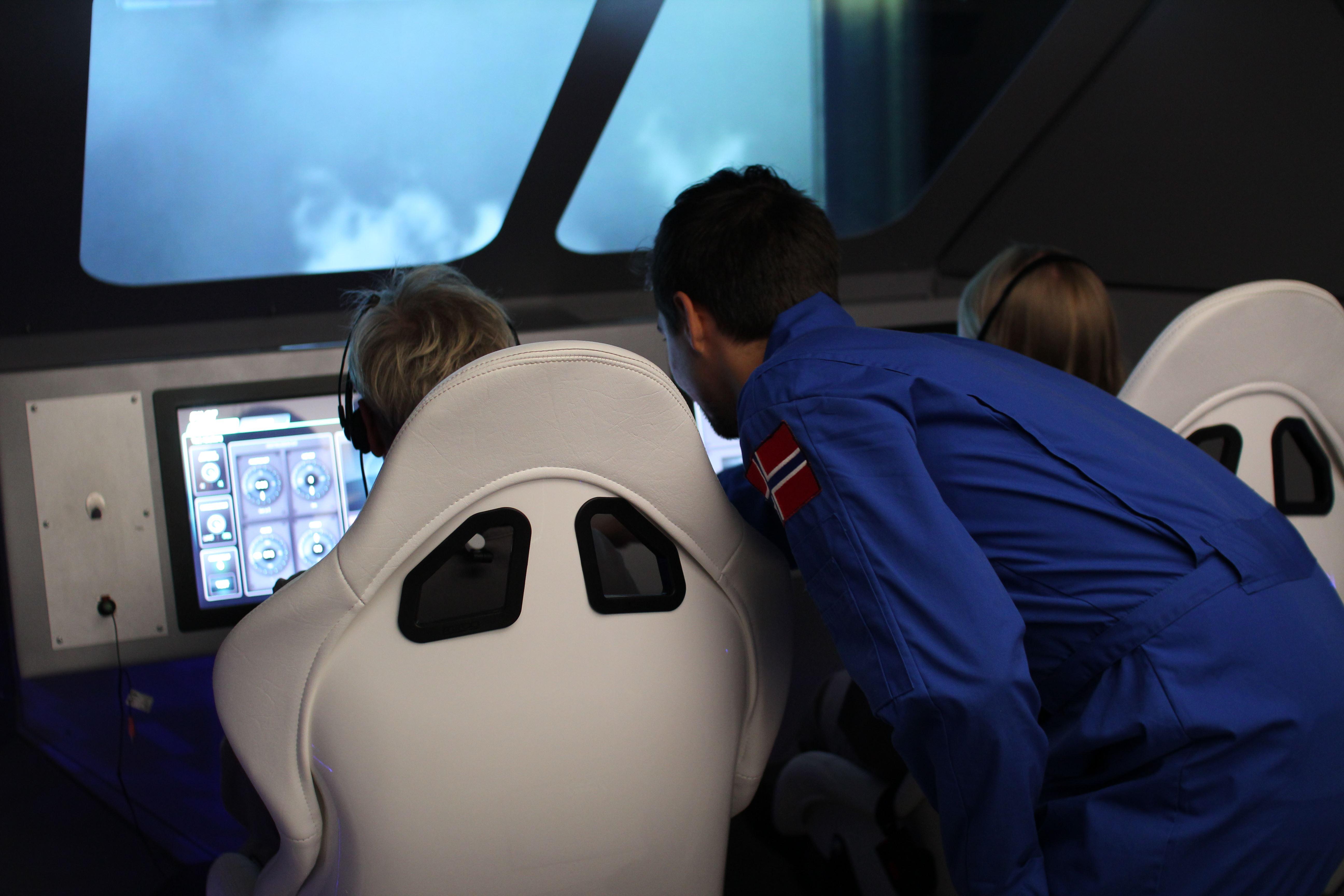 Andøya Space Center,  © Andøya Space Center, Andøya Space Centre - Romskipet Aurora