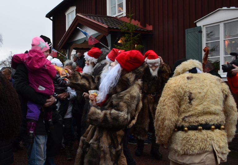 © Elfdalens Hembygdsförening, Julmarknad på Rots Skans