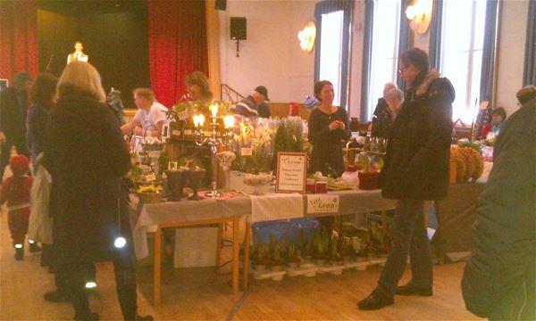 Julmarknad i Sockenstugan