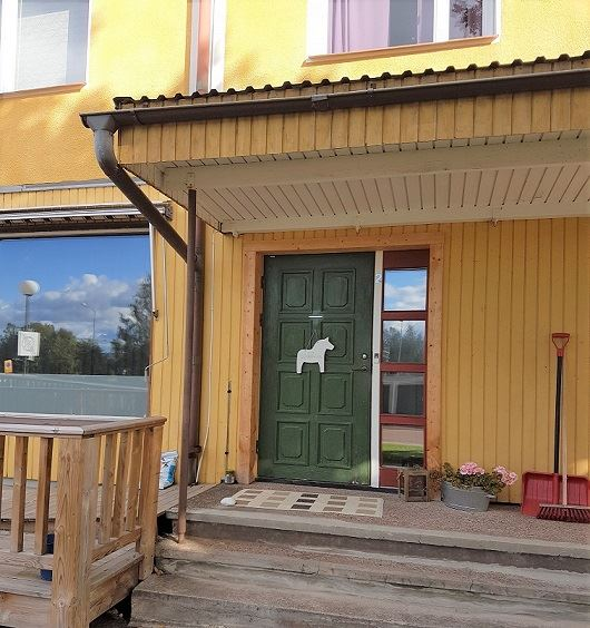 Vasaloppet. Private flat M280, Norebergsvägen, Mora