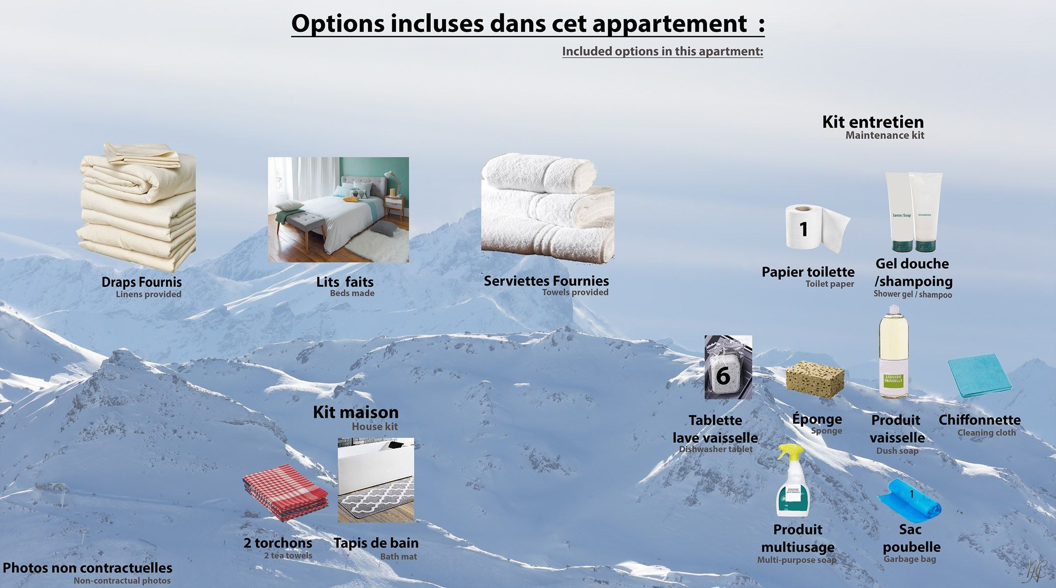 SILVERALP 217 / APPARTEMENT 4 PIECES 6 PERSONNES - 4 FLOCONS OR - ADA