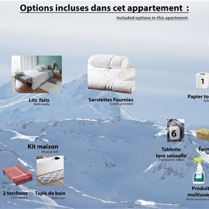 SABOT DE VENUS 05 / APPARTEMENT 5 PIECES 8 PERSONNES - 5 FLOCONS OR - ADA
