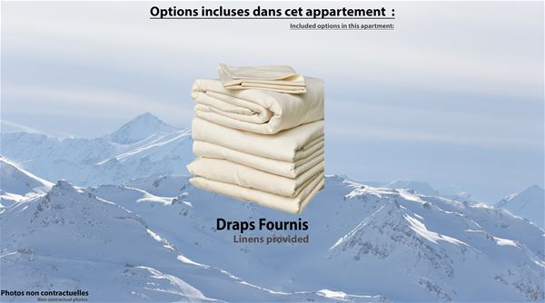CIMES DE CARON 1401 / APPARTEMENT 2 PIECES 4 PERSONNES - 2 FLOCONS BRONZE - ADA