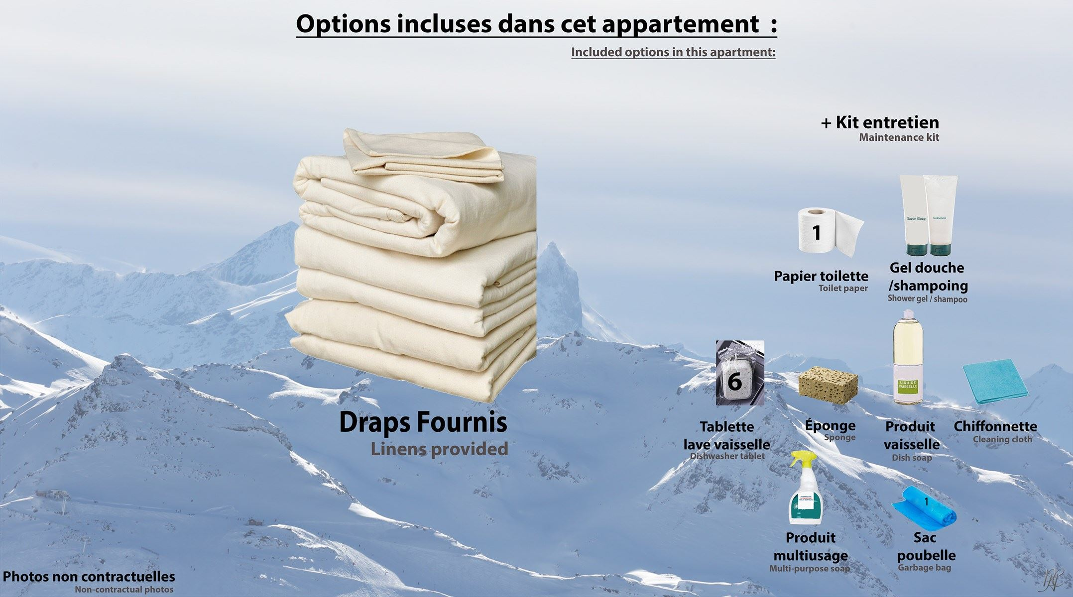 VANOISE 551 / APARTMENT 2 ROOMS CABIN 4 PERSONS - 2 SILVER SNOWFLAKES - ADA