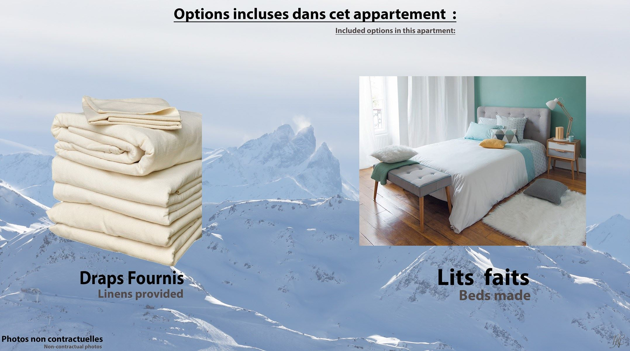 NEVES 178 / APPARTEMENT 3 PIECES 6 PERSONNES - 4 FLOCONS OR - ADA
